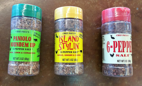 Chef Paul's 6 Pepper Salt