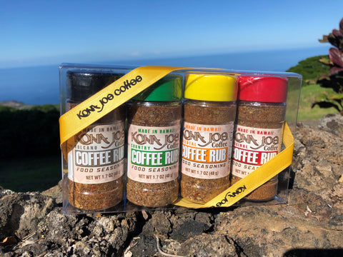 Coffee Rub Gift Pack