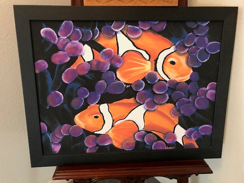 Art Specials - Clown Fish Ready to Ship