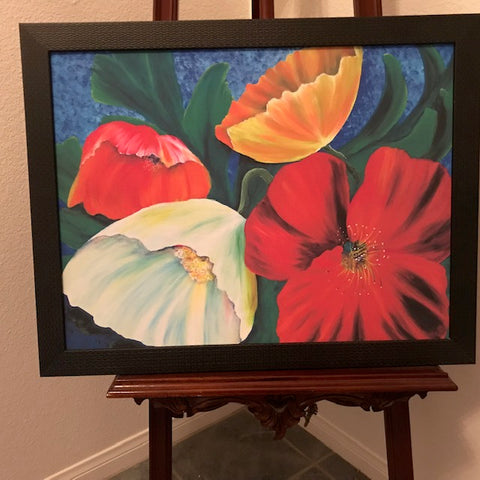 Art Special - Poppies by deepa