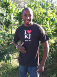 I Love Kona Joe T Shirt