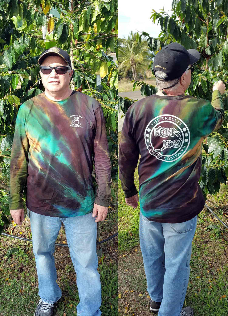 Unisex Long Sleeve Kona Joe Tie Dye Shirt
