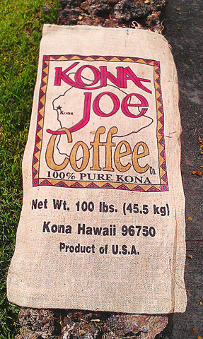 Kona Joe Authentic Burlap Sack