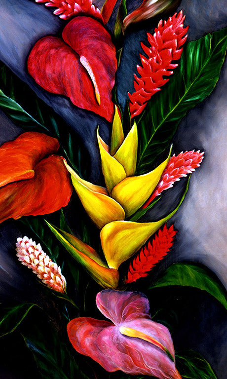 Tropical Bouquet Gift Card