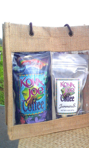Jute Bag with Signature Coffee and Mixed Jammers