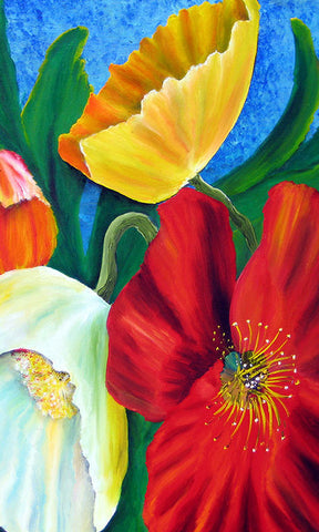 Multi Color Poppy Gift Card