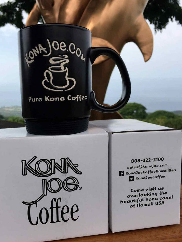 Original Signature Kona Joe Mug with Rubber Bottom