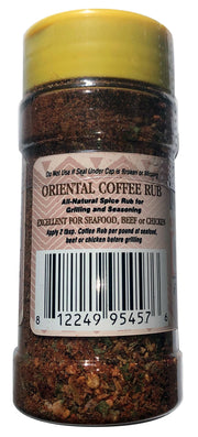 Oriental Coffee Spice Rub