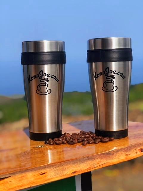 Kona Joe Coffee Travel Mug
