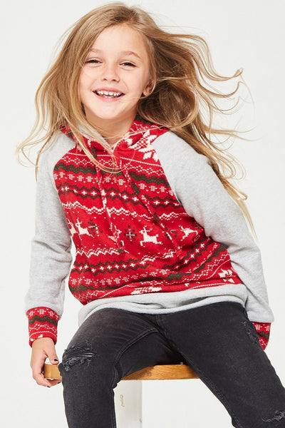 Holiday Double Hoodie Sweater