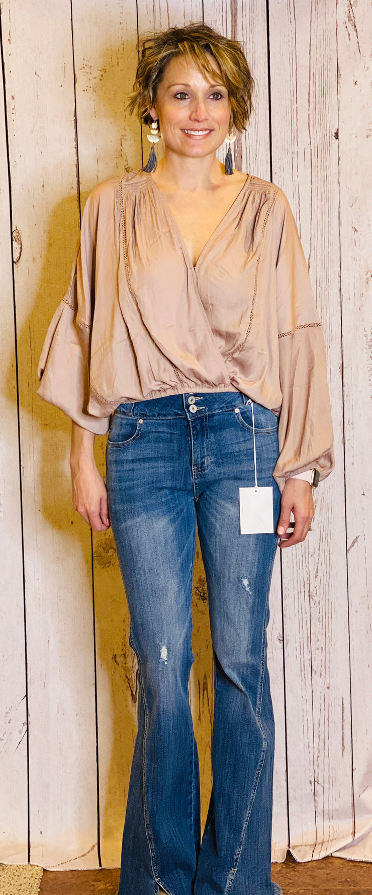 Silk Mink Blouse