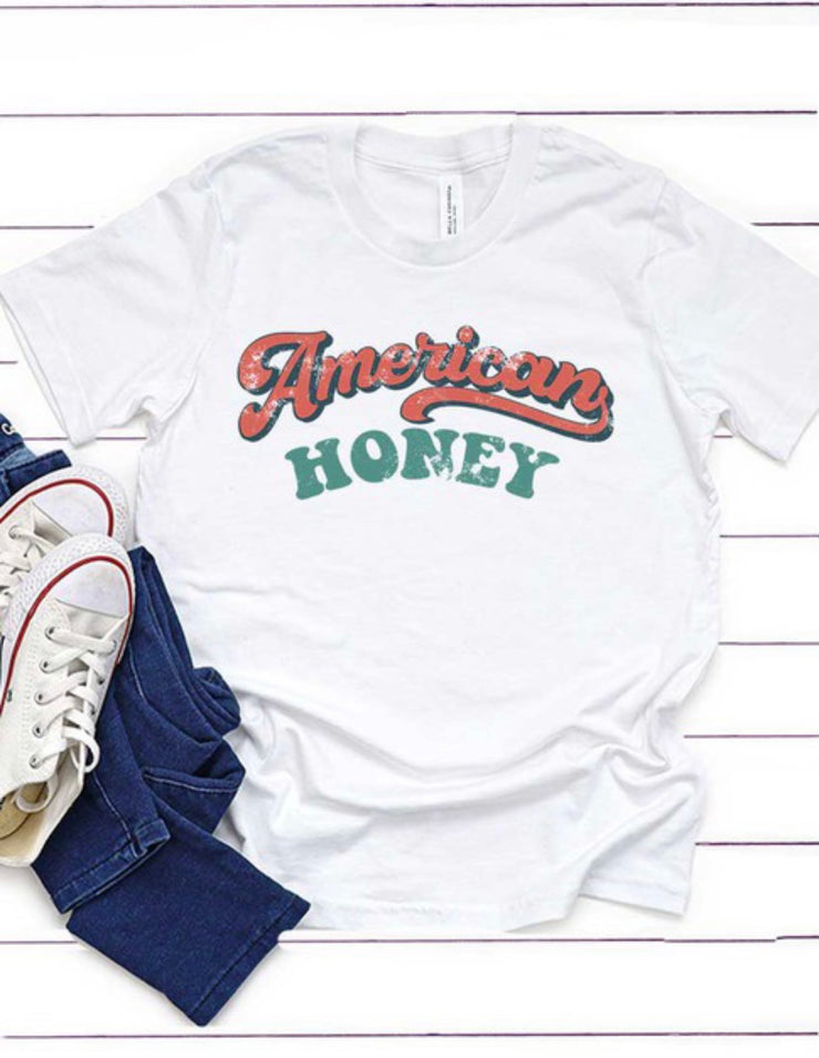 Girls American Honey Graphic Tee