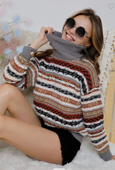 Camo Bell Sleeve Top