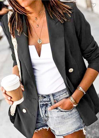 Long Sleeve Blazer Jacket