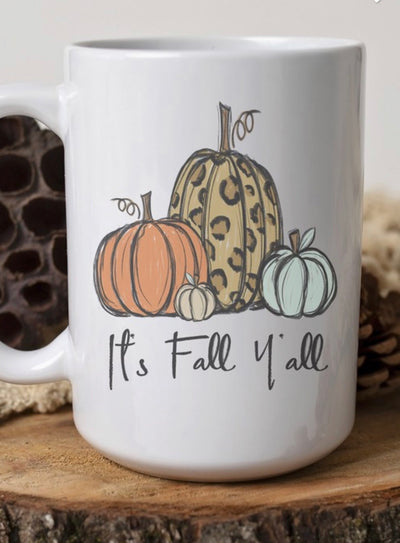 It's Fall Coffee Cup