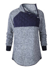 Sherpa Navy Blue Sweater