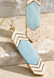 Chevron Earings