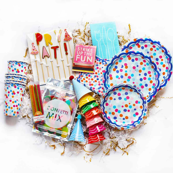 Birthday Party Necessities Party Package