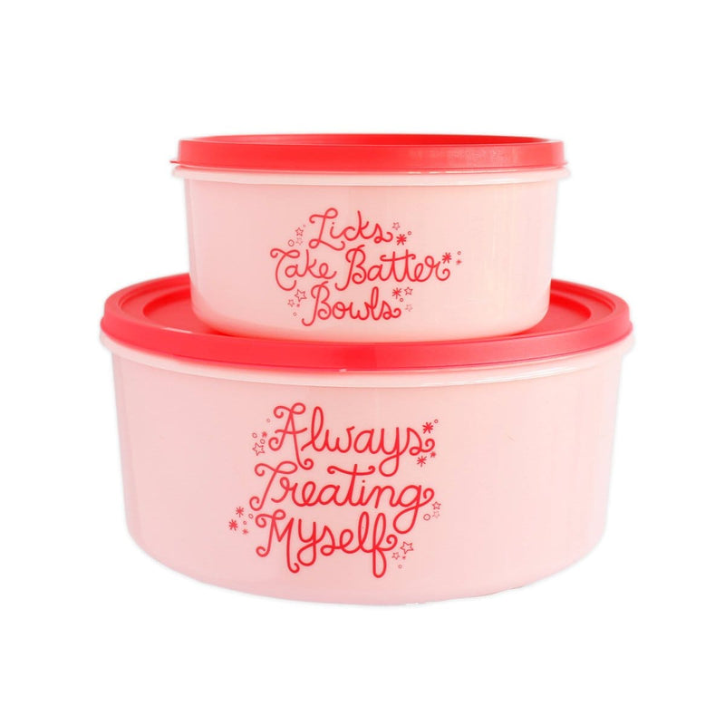ALWAYS TREATING MYSELF FOOD STORAGE CONTAINER SET