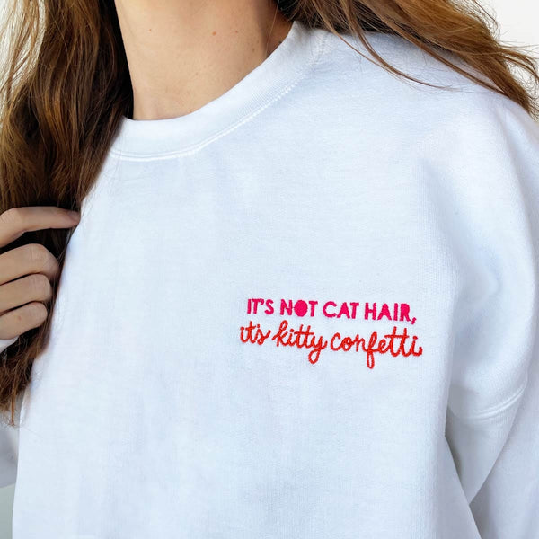 Kitty Confetti Sweatshirt