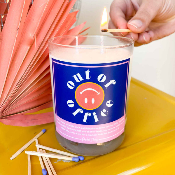 Out Of Office Candle