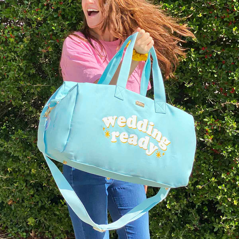 WEDDING READY DUFFLE BAG