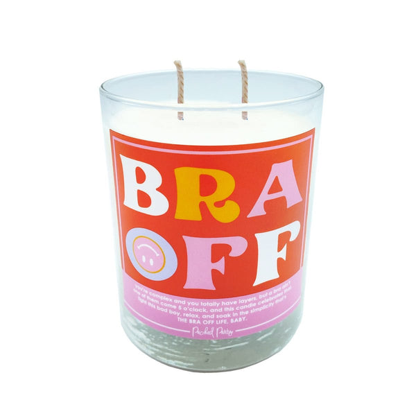 Bra Off Candle