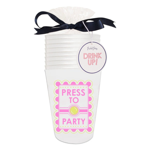 Press To Party Cupstack