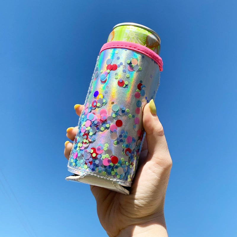 The Skinny Confetti Can Cooler