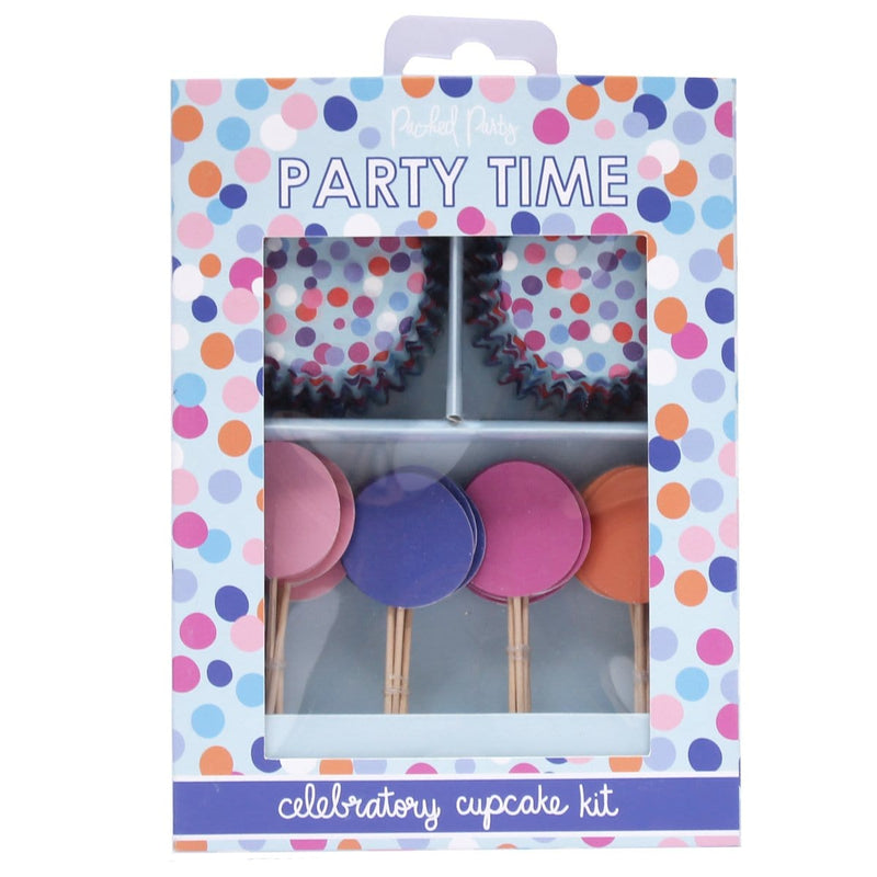 THROW CONFETTI CUPCAKE KIT