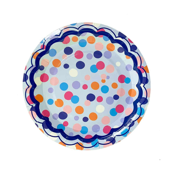 DESSERT PLATE - THROW CONFETTI