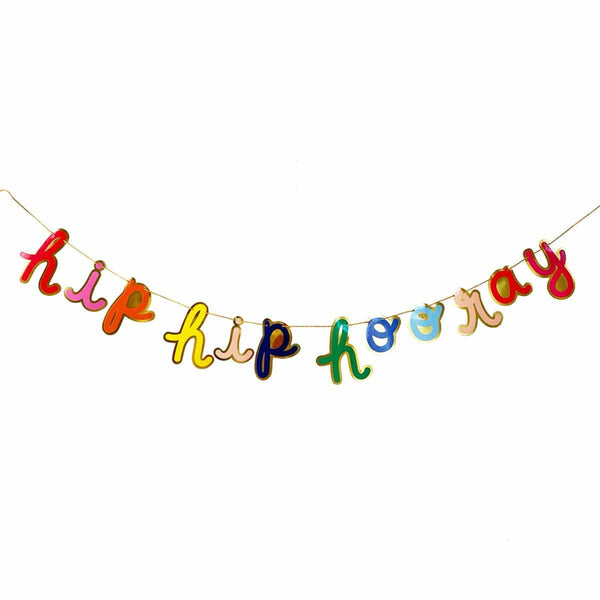 HIP HIP HOORAY PARTY BANNER