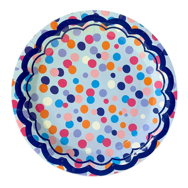 DINNER PLATE - THROW CONFETTI
