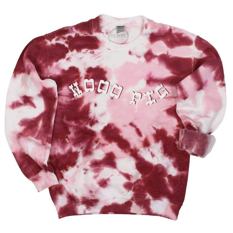 Packed Party Tie Dye For Pullover: Arkansas