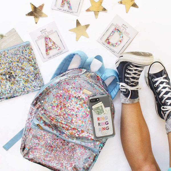 PACKED PARTY CARRY CONFETTI BACKPACK BAG