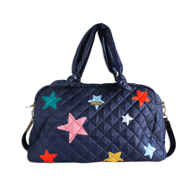 OH MY STARS QUILTED TRAVEL BAG