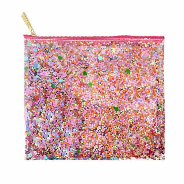 SPICED GIRL CONFETTI EVERYTHING POUCH