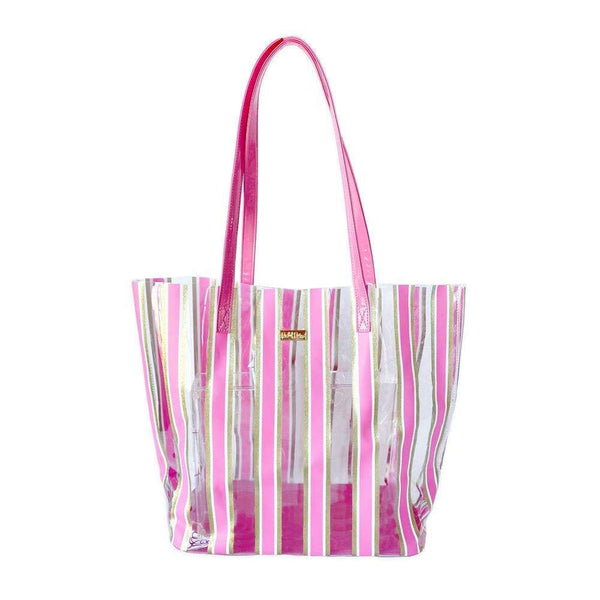 STRIPE HERE, STRIPE NOW TOTE BAG