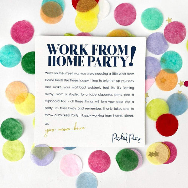 Work From Home Party Package