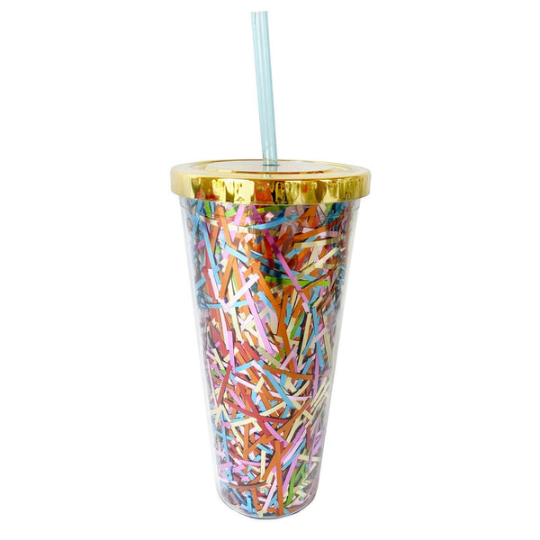 Sugar Rush Streamer Tumbler