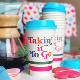 TAKIN' IT TO-GO COFFEE CUPS - 10 PACK