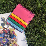 RAINBOW BRIGHT CARD HOLDER KEYCHAIN