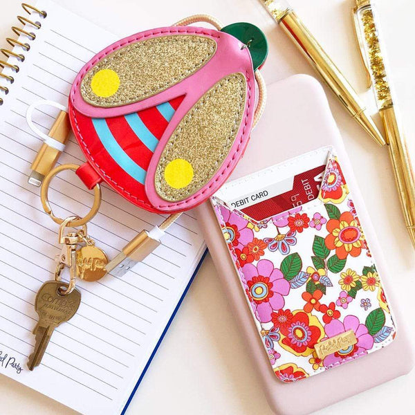 GROW GIRL PHONE CARD HOLDER