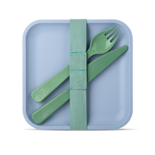 Load image into Gallery viewer, Hip Sandwich and a Salad Container Set with Cutlery