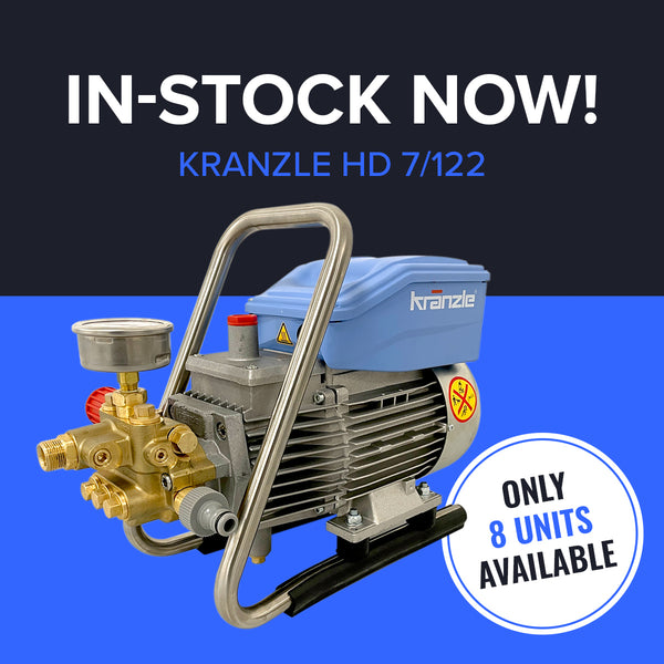kranzle high pressure washer for car cleaning and vehicle detailing in stock now