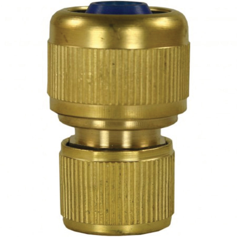 Brass Low Pressure Hose Connector - 3/4""
