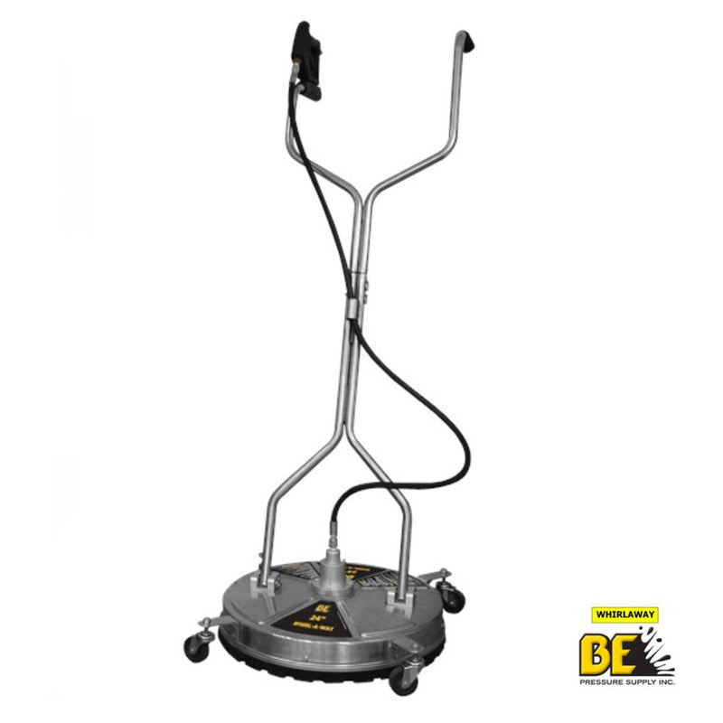 "24"" Whirlaway Stainless Steel Surface Cleaner"
