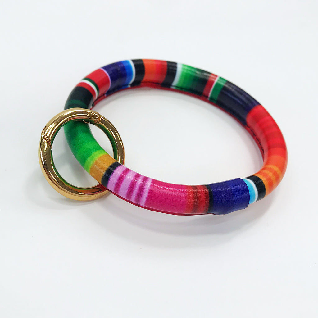 Bangle Multi Color Key Chain