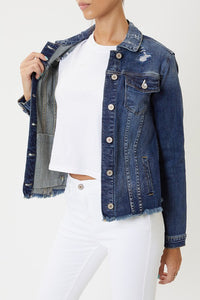 Dark Blue Denim Jacket