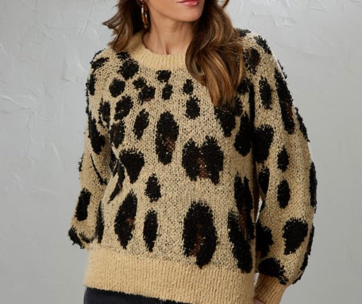 MP Leopard Sweater